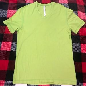 LuluLemon Green Short Sleeve Top